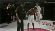 MMA Fighter Vomited after Winning